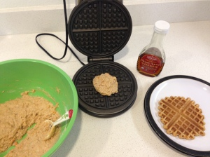 frozen toaster sweet potato waffles from the Fearless Flying Kitchen