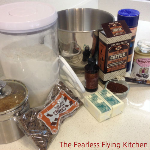 Coffee Crunch Bars Ingredients