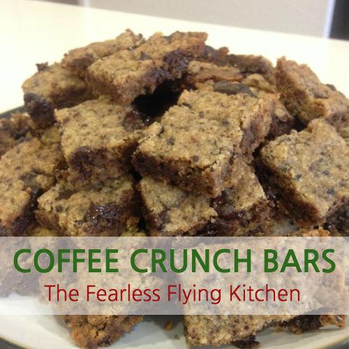 Coffee Crunch Bars