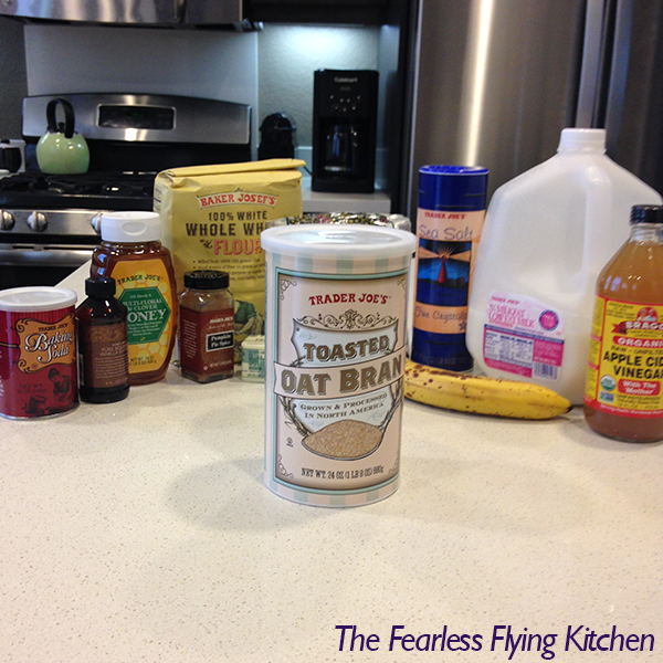 Honey Oat Bran Ingredients FFK