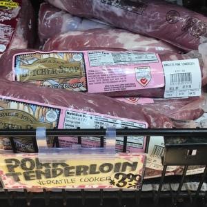 Trader Joes Pork Tenderloin Square