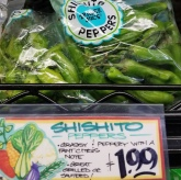 Shishito Peppers - $1.99