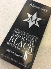 Montezuma's Absolute Black Dark Chocolate - $2.49
