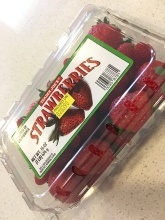 Strawberries - $3.29