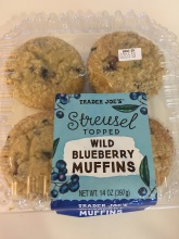 Wild Blueberry Muffins $3.99
