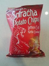 Sriracha Potato Chips