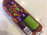 Soy Chorizo from Trader Joe's